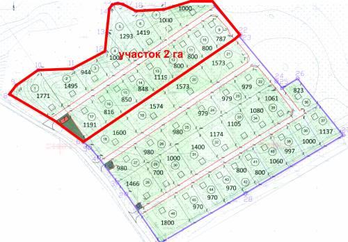 Все участки в собственности.  1771+1495+944+1000+1293+1419+1000+1000+. 6,5 км (10 мин) от развязки КАД (Мега Парнас).